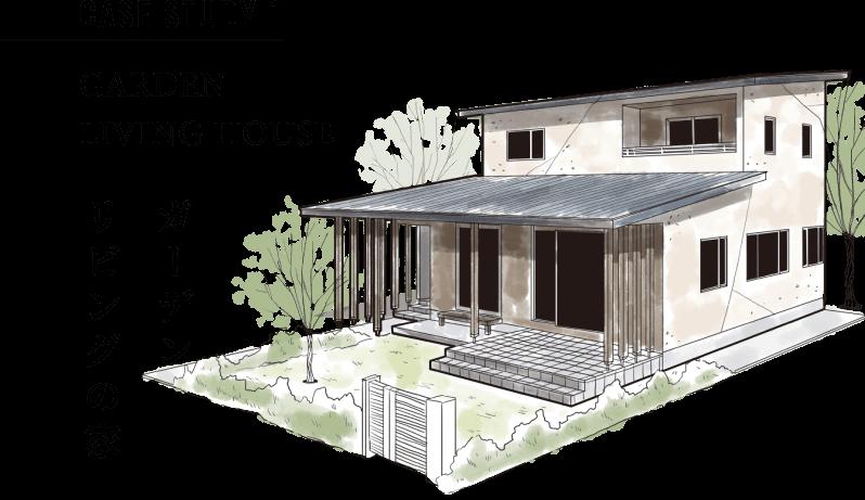 ガーデンリビングの家